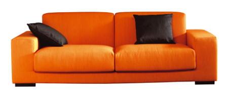 Home decor cor de laranja uma cor quente e acolhedora - Sofas la oca ...