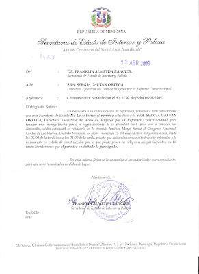 Foro De Mujeres Por La Reforma Constitucional Niegan