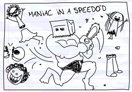 Firstbassawassa Maniac+In+A+Speedo%27d