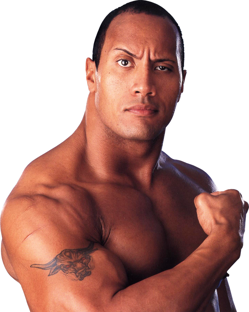 celebrity muscle: Dwayne Johnson(The rock)