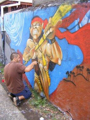 Muralista de Temuco