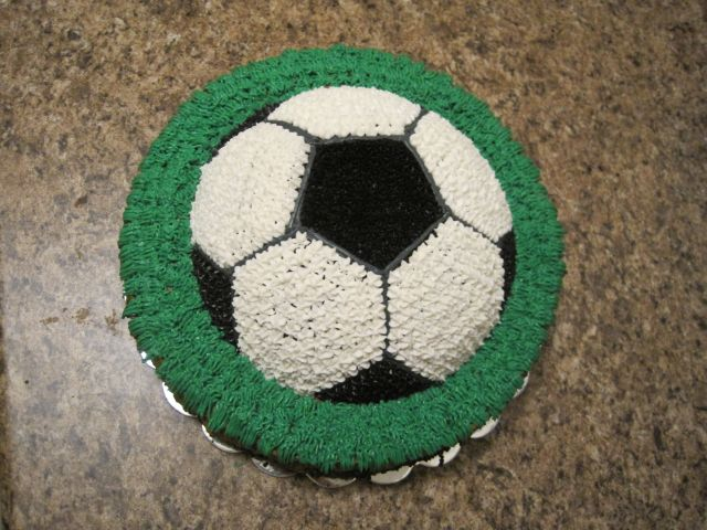 Your Happy Baker Soccer Ball Birthday Cake