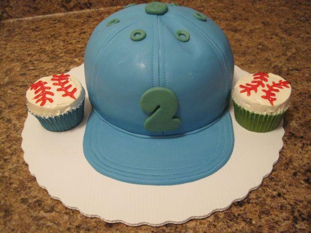 Your Happy Baker Baseball Cap Cake