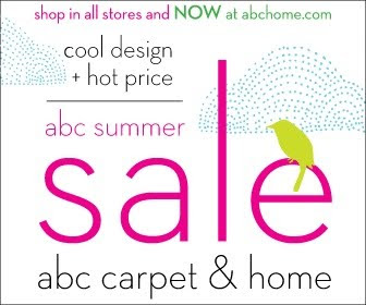 Madison avenue spy june 2010 for Abc carpet outlet sale