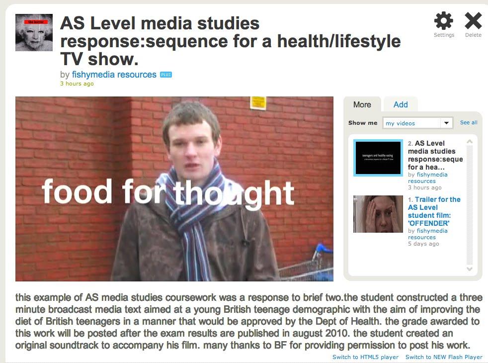 aqa media studies a level coursework brief