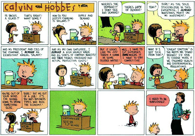 Calvin and Hobbes: Insight into America's failing auto industry