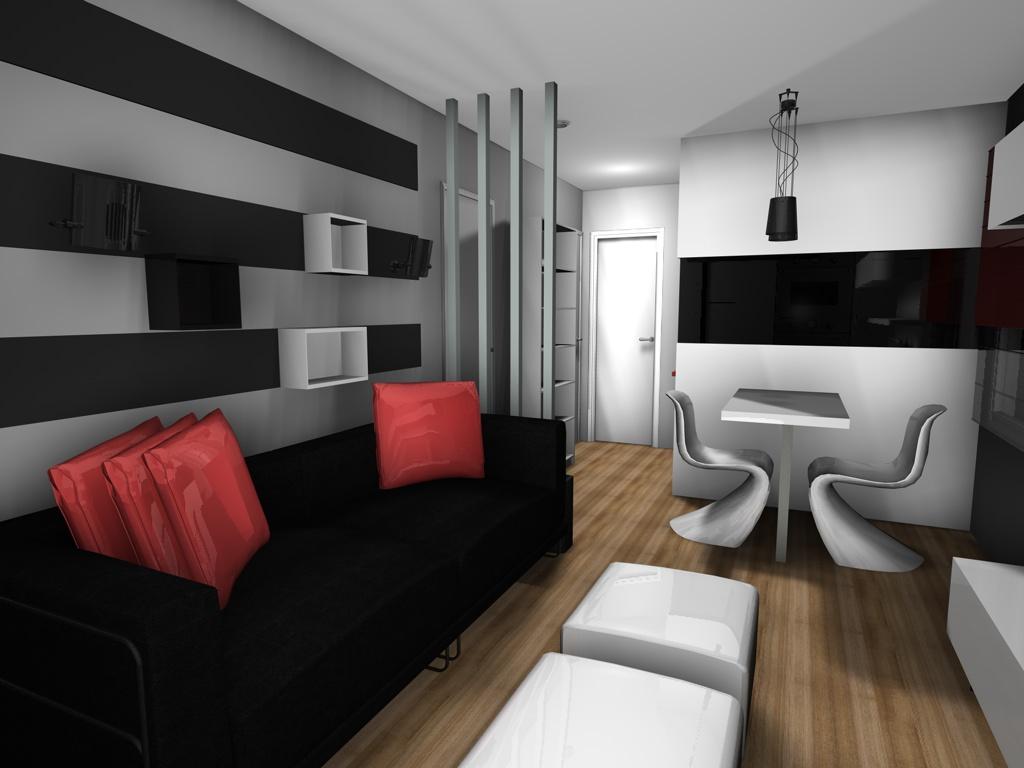 Mini piso 30m decorar tu casa es for Foro casas con vida