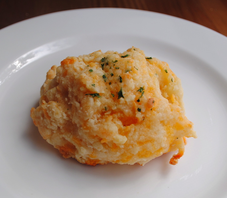Stephanie's Cooking: Cheddar and Herb Biscuits