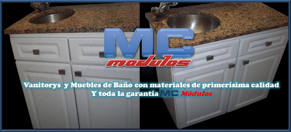 Modulos mc vanitorys y muebles de ba o adaptables a medida - Modulos de bano ...