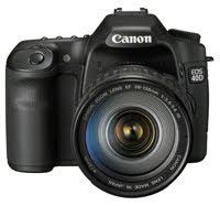 CAMERA FOTO CANON 40 D