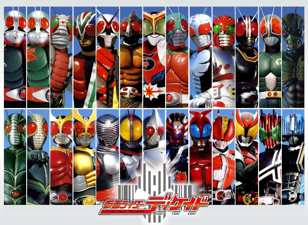 Download Kamen Rider Decade All Rider vs DaiShocker