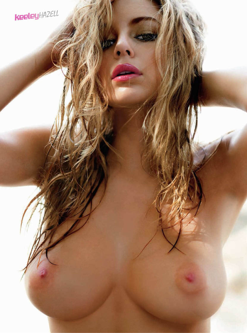 ... topless and in lingerie all over a hostelry set. Keeley Hazell ...