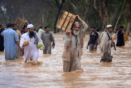 U.S. intervene in disaster relief in Pakistan, suspected with impure motives