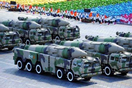 Dongfeng-21C medium-range ballistic missile