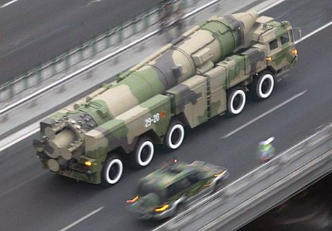 The West believed that Dongfeng -21 is the world's first to ballistic missiles against moving targets at sea