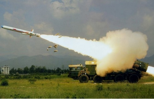 Chinese anti-ship missile
