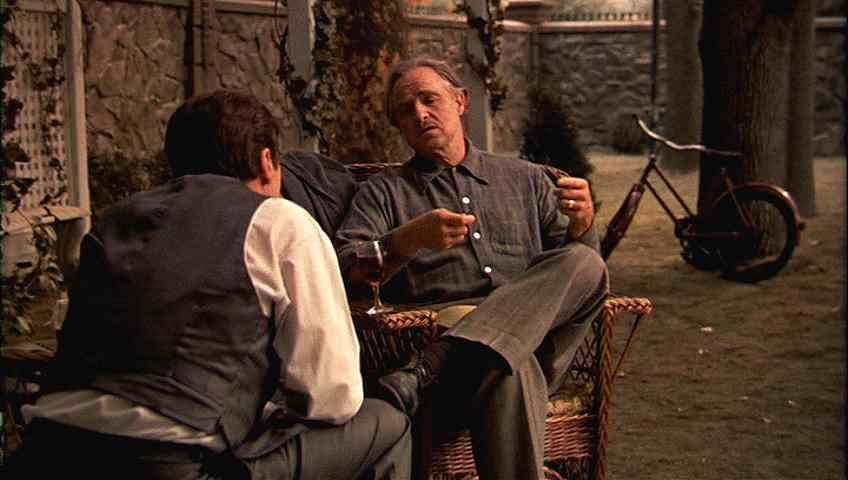 Blogging By Cinema-light: Don't Make a Scene: The Godfather