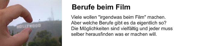 beruf der filmbranche