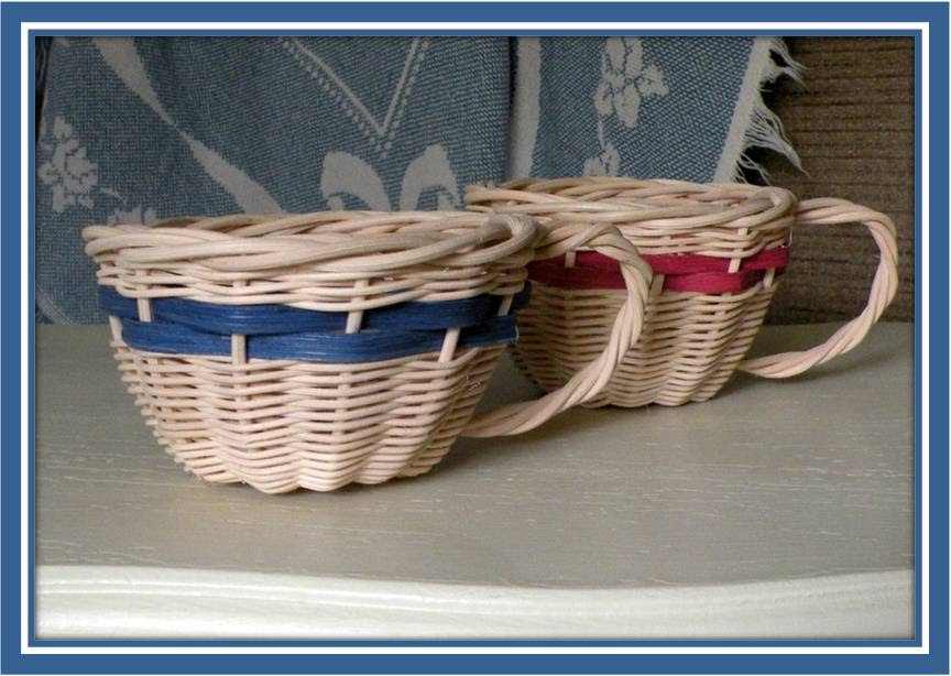 Basket Weaving With Reeds : Basketmaster s weavings free basket weaving pattern tea