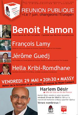 Vendredi 29 mai: grande journée de mobilisation à Massy!