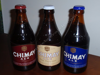 Chimay Red, Chimay Trippel, Chimay Blue