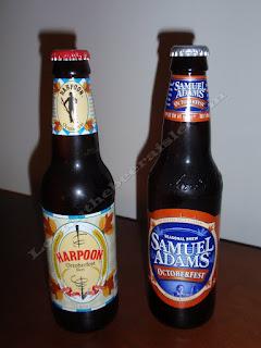 Samuel AdamsOctoberfest and Harpoon Octoberfest