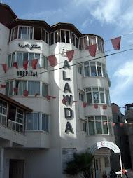 l'ospedale Al Awda
