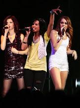 Demi,Selena e Miley