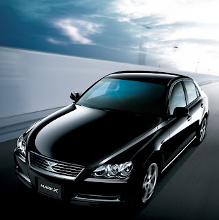 Toyota Mark X black