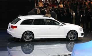 Audi Rs6 Avant white