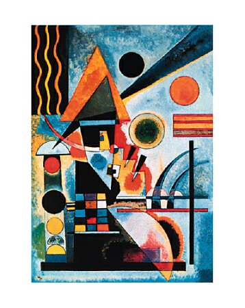mus e virtuel balancement de wassily kandinsky. Black Bedroom Furniture Sets. Home Design Ideas