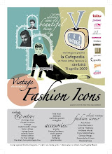 am participat pe 11 aprilie la targul V for Vintage: Vintage Fashion Icons