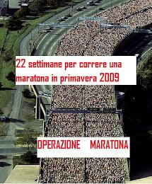 Operazione Maratona in 22 settimane