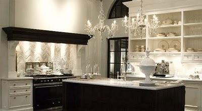 Belle inspirations black and white kitchens - Cocinas elegantes y modernas ...