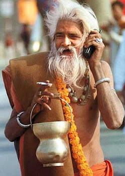 Pemeluk Agama Handphone