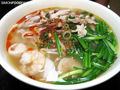 Jimmy's Recipe Malaysia: Seafood Kway Teow Siram, Sydney (13 Jan 2010)