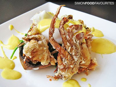 Simon Food Favourites Cafe Ish Crab Omelette And