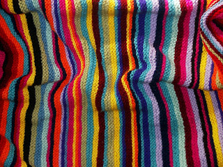Stripe Pattern Generator Knitting : Crafting With Style: Garter Stripe Baby Blanket