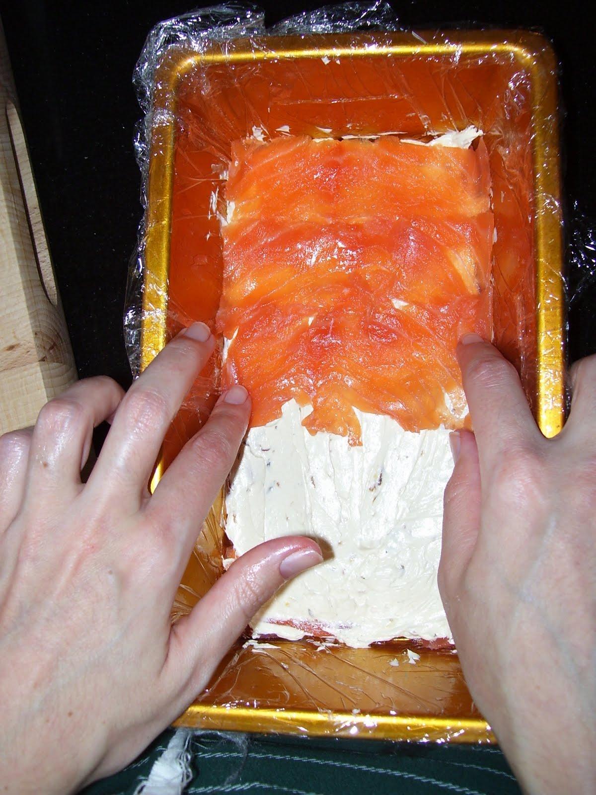 how to make smoked salmon roses