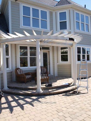 Woodwork Curved Pergola Plans PDF Plans