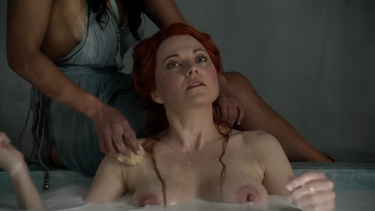 Lucy Lawless In Spartacus Nude Scenes Pilation