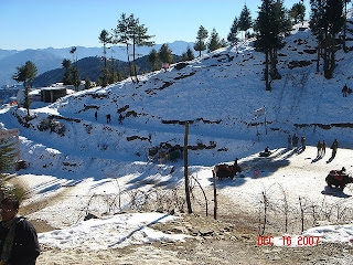 Snow Fall at Kufri