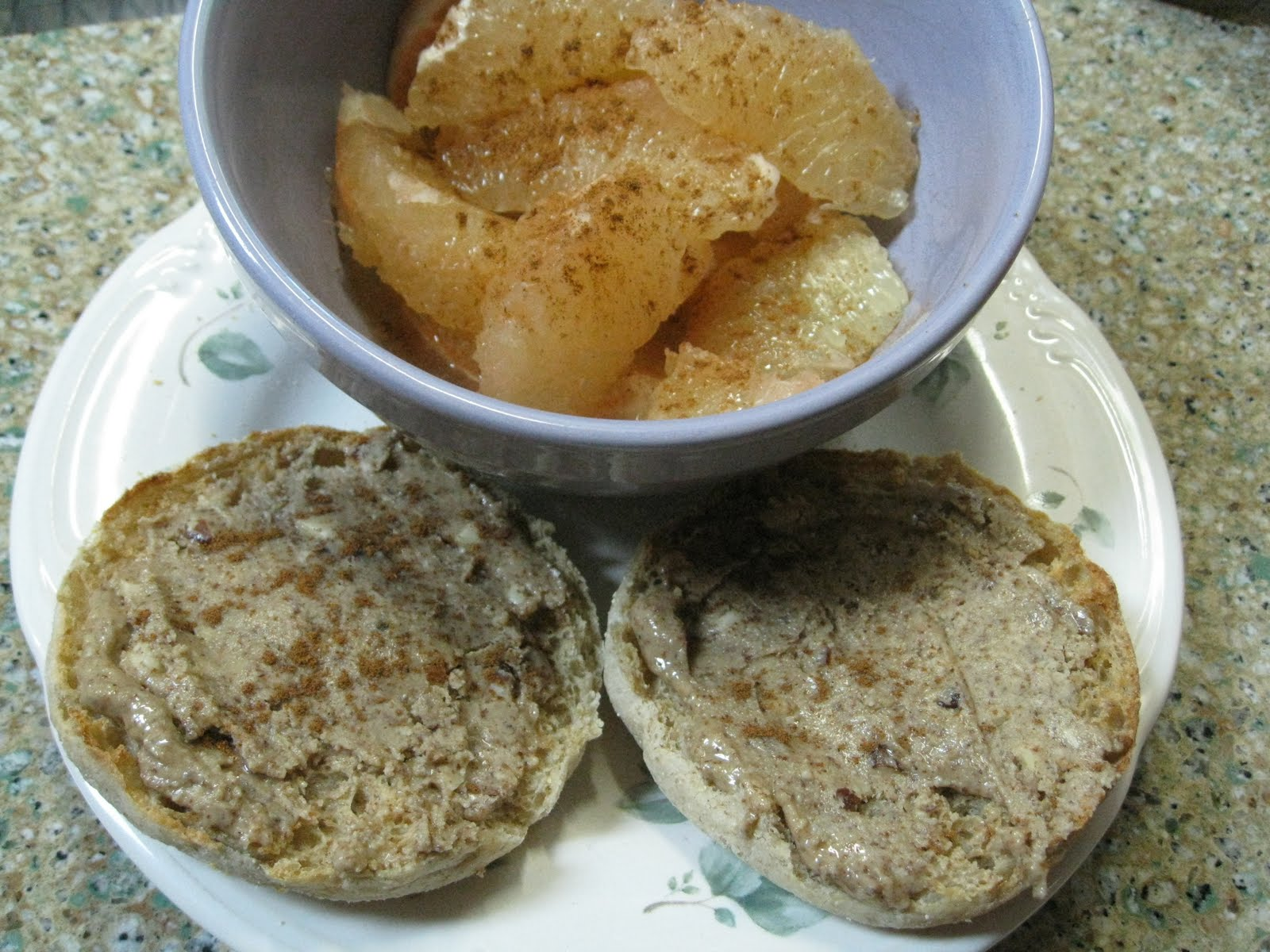 carb  count english muffin