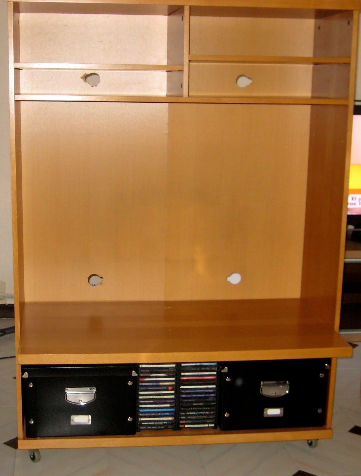 Mueble para TV/audio de Ikea  El Merkadillo Vintage
