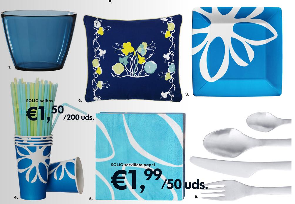 Decorando la vida fiesta en azul decoraci n retro for Jardin azul canal 9