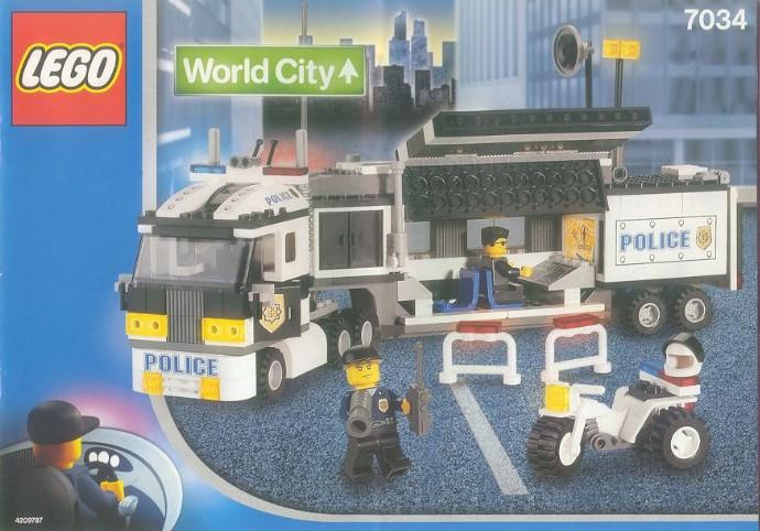 lego police station instructions 2011
