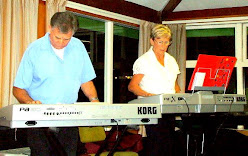 Our April 2008 Guest Artist, John Bercich with his Korgs and dueting here with student Jan Johnston