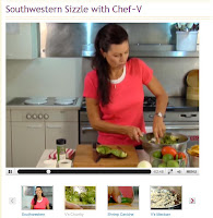 Southwestern Sizzle with Chef ~V