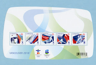 Sports of the 2010 Olympic Games Stamps