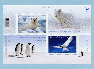Canada 2009 Preserve the Polar Regions Souvenir Sheet